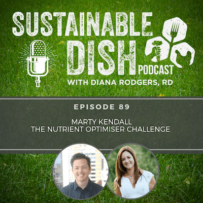 Sustainable Dish Podcast - Marty Kendall