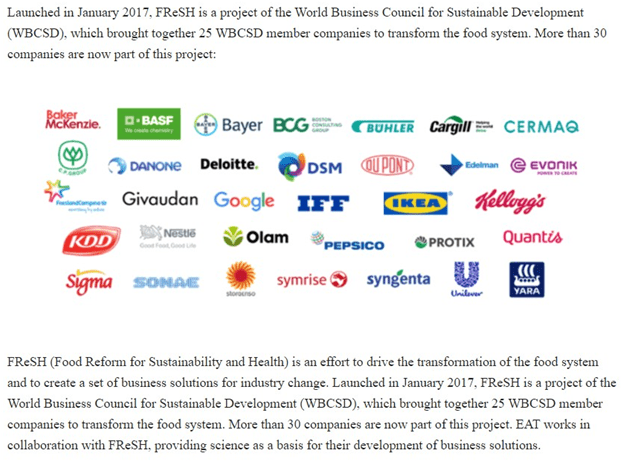 companies that control food system