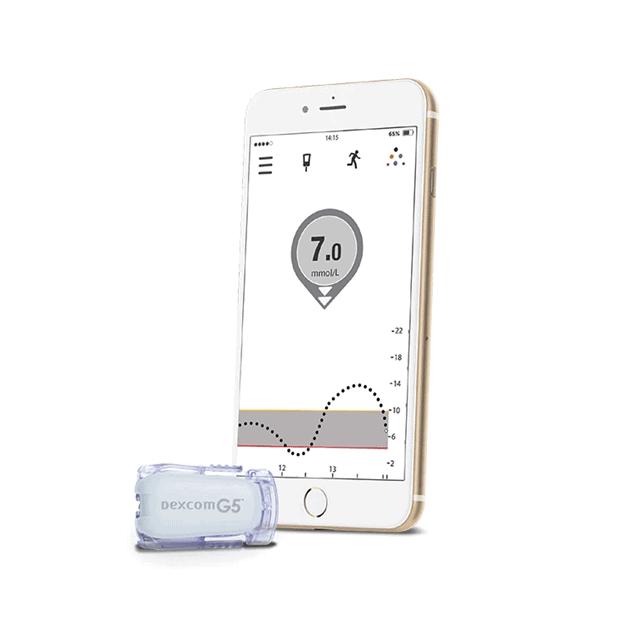 Dexcom - continuous glucose monitor